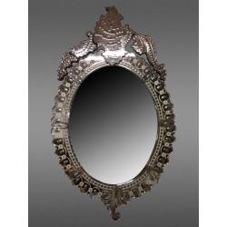 Miroir De Venise Ovale é Fronton