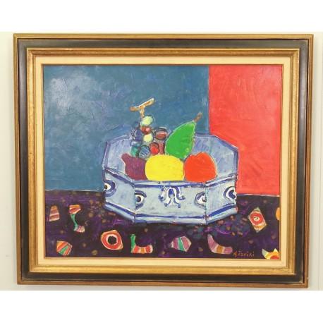 Jardiniére De Fruits Par Paul Aézpiri
