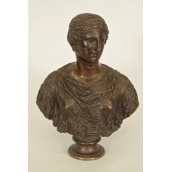 Buste Femme à l'Antique Barbedienne Fondeur