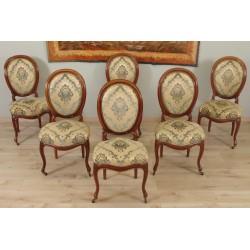 Six Chaises Napoléon III