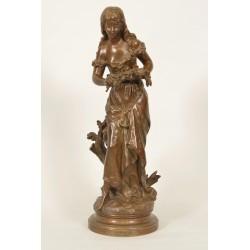 Bronze Ophélie Par Hippolyte Moreau