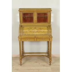 Bureau Laqué Style Louis XVI