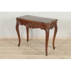 Table é Jeux Style Louis XV Acajou 1900