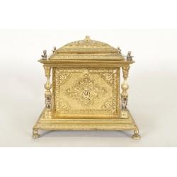 Coffret à bijoux Napoléon III bronze doré