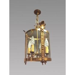 Lanterne style Régence bronze doré