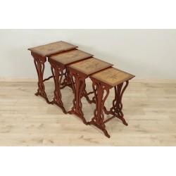 Tables gigognes Art-Nouveau